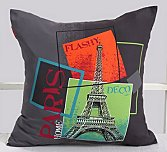 Eiffel Tower Cushion Cover