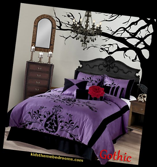remarkable purple gothic bedroom | Gothic bedroom ideas. - gothic bedroom decor - gothic ...