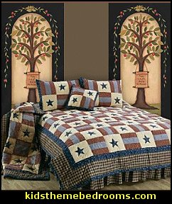 Americana decor primitive Colonial & Country style - country decor ... : americana country quilts - Adamdwight.com