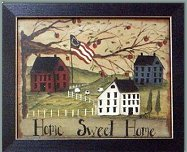 americana decor primitive colonial country style